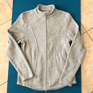 Callaway golf apparel thermal fleece zip-up jacket